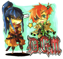 DGM: Yuu+Lavi by chobble