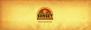 Sunset sarsaparilla label by emptysamurai