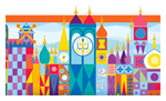 Disney's It's a Small World Stamp by BrainyxBat