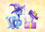 Great and Powerful Gift by Celebi-Yoshi