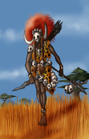 Tribal orc by Lordstevie