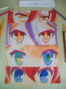no game no life!!!! by Tenemur
