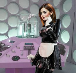 The Maid in her Tardis. by Shiny-Fan