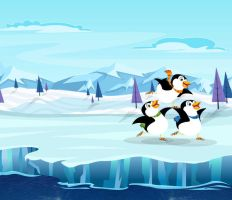 Dancing Penguins by CourtneyBowen