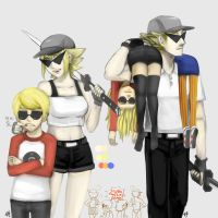 Bro and Sis (gender changed ) by salihombox