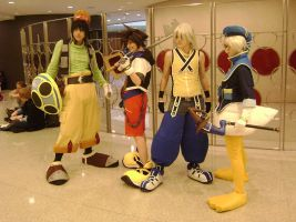 Kingdom Hearts AnimeFEST 2010 by fablekeeper