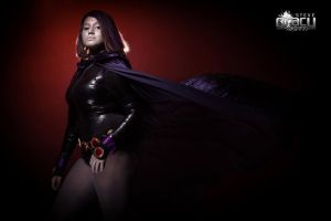 Signed Raven Cosplay Print by DYENBOfficial