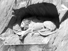 The Lion Monument by Angelman8