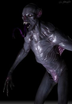 Grimm Season 3 ASWANG design model 2 by JSMarantz