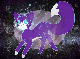 Spacecat! by Dawnpath
