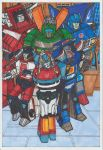 Autobots Class Of '85 by conradknightsocks