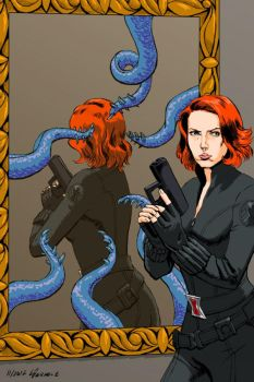 Black Widow by SuncatStudio