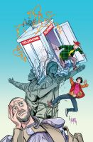 Cover to Bill and Ted's Most Triumphant Return # 2 by FelipeSmith