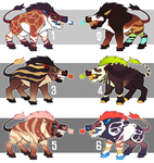 Daeodon Adopts - CLOSED by thekingtheory