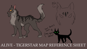 Tigerstar is Alive - MAP design by ChikkiArts