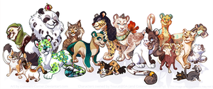 Everybody wants to be a cat! by Colonels-Corner