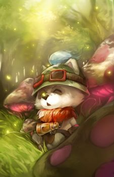 LoL: Captain Teemo by ippus