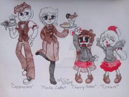Cherry's Family: Sibling Line-up