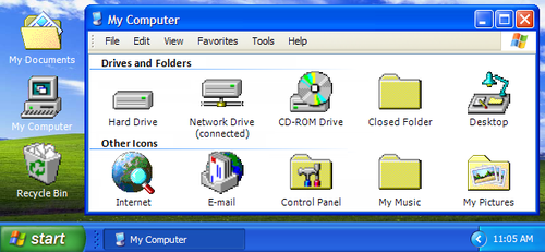 IconPackager - Windows 95 OSR2 by rcmero
