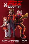 Fox ARC-0 Commission cover: Moving On by Foxy-Knight