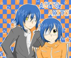 Air Gear: Agito and Akito by ji-hwan