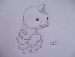 013 Weedle by SoraSonic