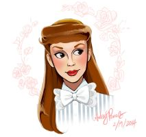 Judy Garland as Esther Smith by Yunyin