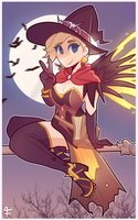 Witch Mercy by Fluffielox