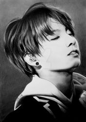 Jungkook of BTS, Bangtan Boys, KPop by Mim78