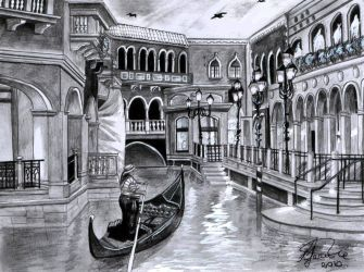 Book Commision: Grand Canal by mustingel