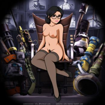 Miss Pauling Nude by S2Xthe5th