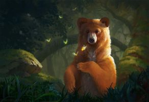 A Bear Named Mishka by LeeshaHannigan