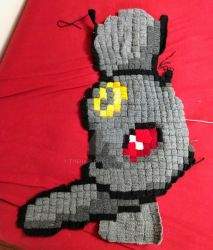 Umbreon Blanket Part 5 by TheHarley