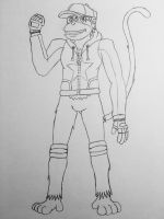 (Revised) Diddy Kong Redesign Sketch by Varia31