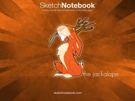 SKNB Desktop Jackalope by WarBrown