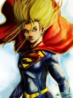 Supergirl by Mark-Clark-II