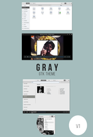 Gray - gtk theme by kxmylo