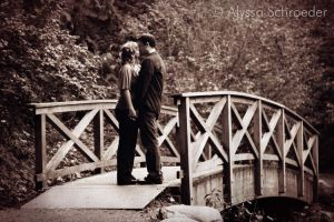 Romance on the Kissing Bridge by canuckgurl22