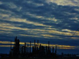 Factory North of Bellingham by bootlacephotography