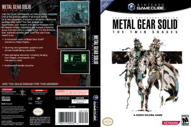 Custom MGS Twin Snakes cover by ShinGallon