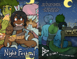 Night Festival -- At Kumoricon 2018! by DarkChibiShadow