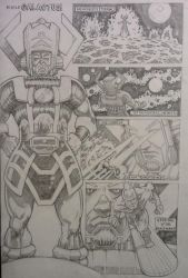 Galactus and his Heralds - page 1 by CWmaxWorld