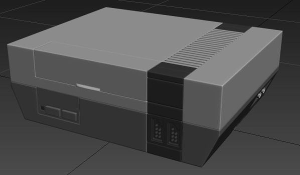 Nintendo Entertainment System by Overmind5000