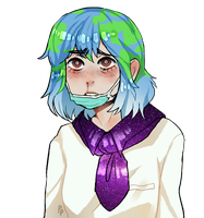 Earth-chan by Phallales