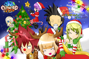 Elsword-RPs - Winter Holidays Event by fuumika