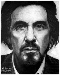 Al Pacino by pablorenauld
