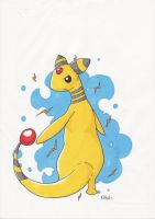 Pokemon Ampharos: Let sparks fly by wickednick94