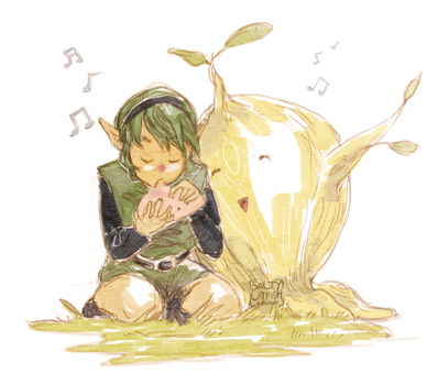 LoZ: Forest Songs by saltycatfish
