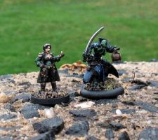 Dungeons and Dragons minis 2 by CankeredRose