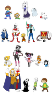 Toon Undertale Complete by that-one-guy-again